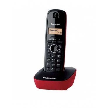 Panasonic KX-TG1611 Μαύρο-Κόκκινο
