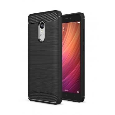 POWERTECH Θήκη Carbon Flex για Xiaomi Note 4/4X, Black
