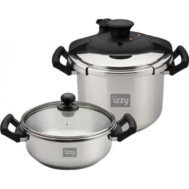 Izzy Multi Set 8Lt+4Lt, Cookware