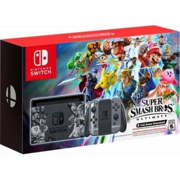 Nintendo Switch 32GB & Super Smash Bros. Ultimate Edition