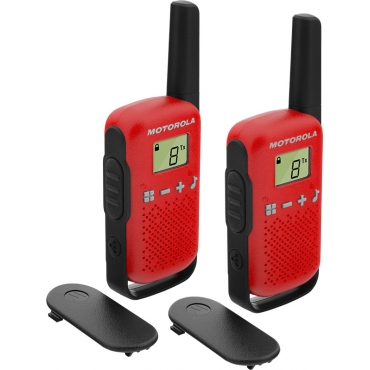 Motorola Talkabout T42 Twin Pack Red