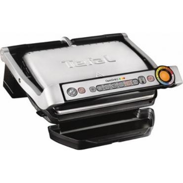 Tefal GC712D OptiGrill+ Γκριλιέρα 2000W Silver