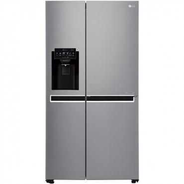 LG Ψυγείο Ντουλάπα NoFrost Inox A++ GSL760PZUZ