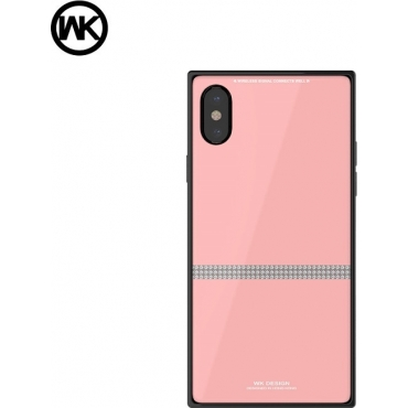 WK Cara Back Cover Ροζ (iPhone X / Xs)