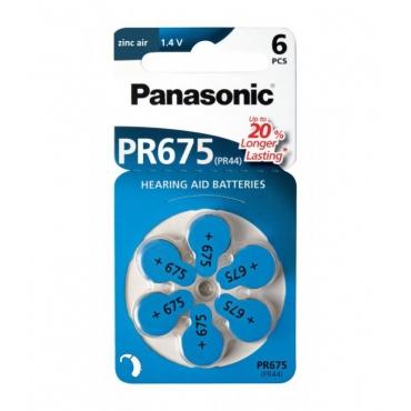 Panasonis PR675 ZINC AIR 1,4V 6ΤΜΧ