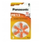 Panasonic PR13 ZINC AIR 1,4V 6ΤΜΧ