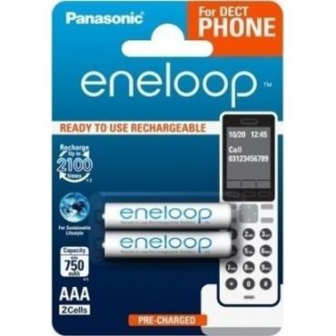 Panasonic Eneloop Dect AAA 750mAh (2τμχ)