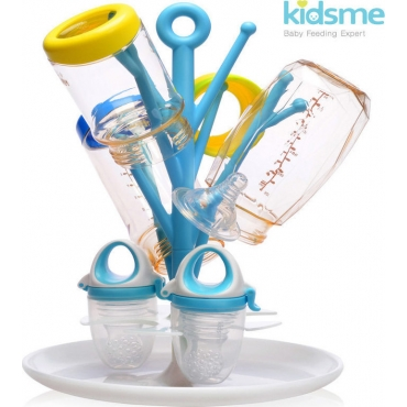 Kidsme - Βάση για στέγνωμα Μπιμπερό Μπλε KID-0049