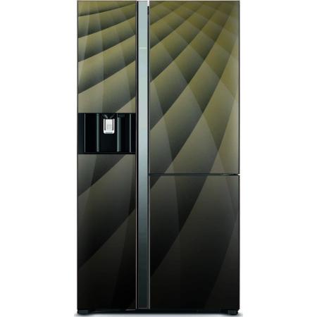 Hitachi Ψυγείο Ντουλάπα NoFrost A++ R-M700AGPRU4X