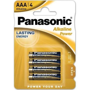 Panasonic Alkaline Power AAA (4τμχ) PAN-LR03APB-4