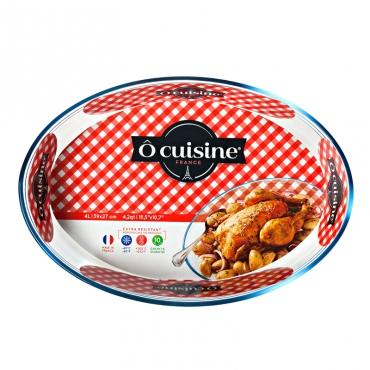 Γυάλινο Ταψί Οβάλ 39×27εκ. 347 Ô cuisine 327347