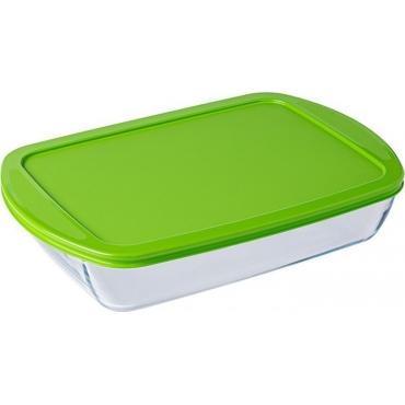 Pyrex Φαγητοδοχείο Cook & Store 4500ml Πράσινο