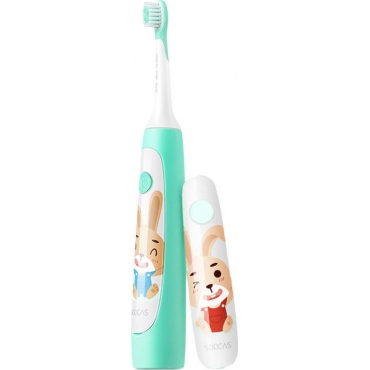 Soocas Sonic Electronic Toothbrush C1 for Kids Green