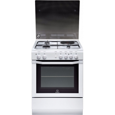 Indesit Κουζίνα 59lt με Εστίες Μικτές I6M6CAG(W)/FR