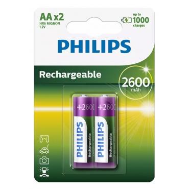 Philips AA 2600mAh (2τμχ)