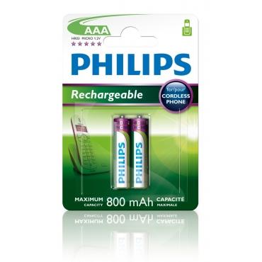 Philips AAA 800mAh (2τμχ)
