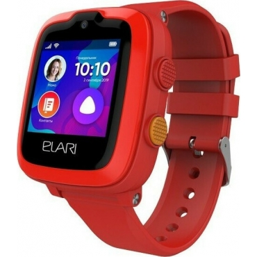 Elari KidPhone 4G Smart Watch Red