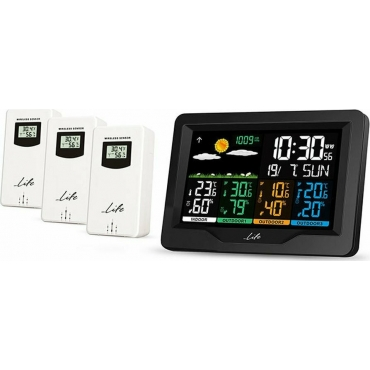 Life Weather Station Continental Quad Display 221-0191