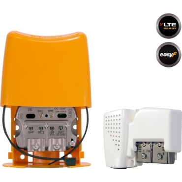 Televes Mast Amplifier + PSU 12V UHF/VHF/SAT