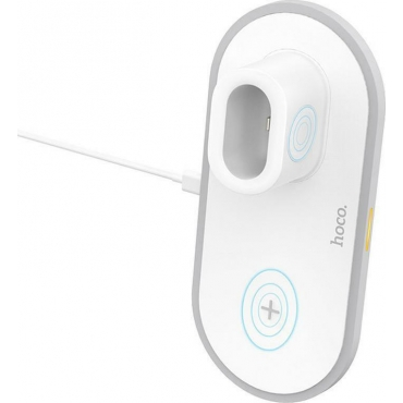 Hoco Wireless Charging Pad (Qi) Λευκό (CW21)
