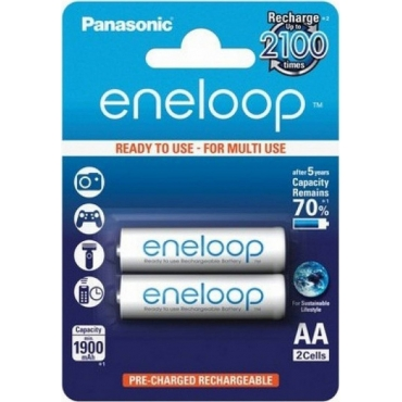 Panasonic Eneloop AA 1900mAh (2τμχ)