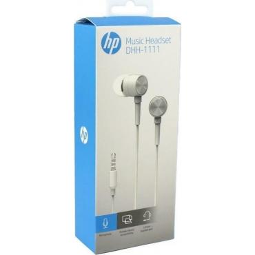 HP DHH-1111 In-ear Handsfree με Βύσμα 3.5mm Λευκό