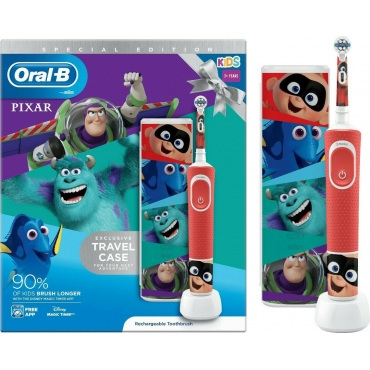 Oral-B Kids 3+ Years Vitality Special Edition Pixar & Travel Case 80337576