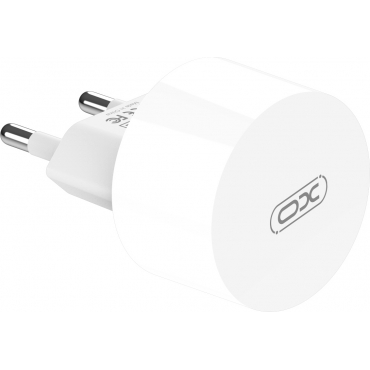 XO 2x USB-A Wall Adapter Λευκό (L62)