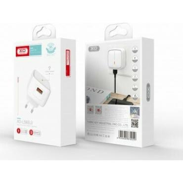 XO USB-A Wall Adapter Λευκό (L59)