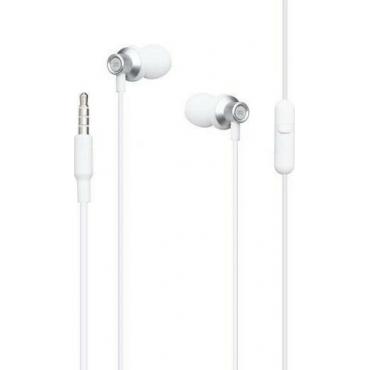 XO EP15 In-ear Handsfree με Βύσμα 3.5mm Λευκό