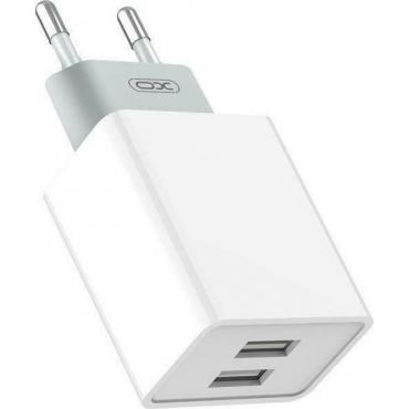 XO 2x USB-A Wall Adapter (L65)