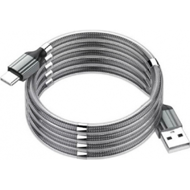 Ldnio Regular USB to Lightning Cable Γκρι 1m (LD-LS491LGR)