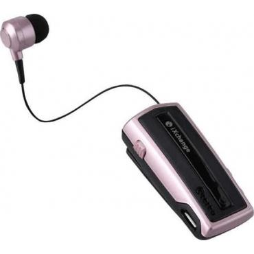 iXchange UA-28SE In-ear Bluetooth Handsfree Ροζ Χρυσό