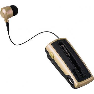 iXchange UA-28SE In-ear Bluetooth Handsfree Χρυσό