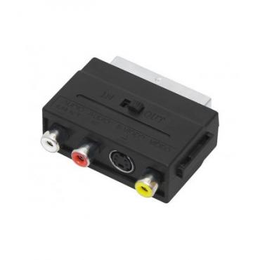 Adaptor SCART 3xRCA+SVHS DM-2568