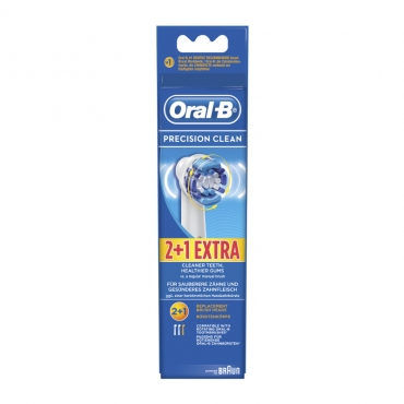 Oral-B Precision Clean 2+1τμχ
